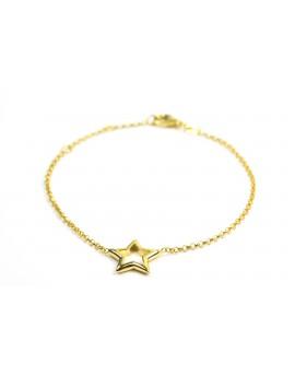 Pulsera Estrella Amarilla Grande
