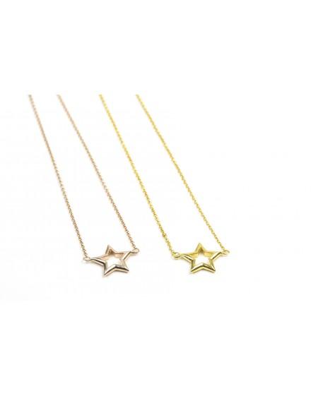 Gargantilla Estrella Amarilla Grande