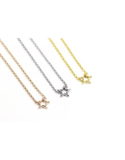 Gargantilla Estrella Amarilla Pequeña