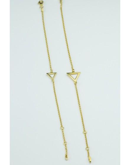 Pulsera Triángulo Amarillo Pequeño