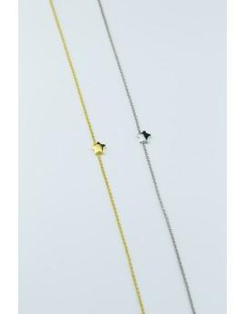Tobillera estrella amarilla